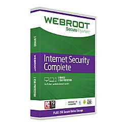 Webroot SecureAnywhere Complete With Antivirus 1