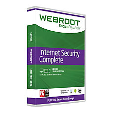 Webroot SecureAnywhere Complete With Antivirus 5