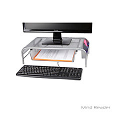 Mind Reader Metal Mesh Monitor Stand