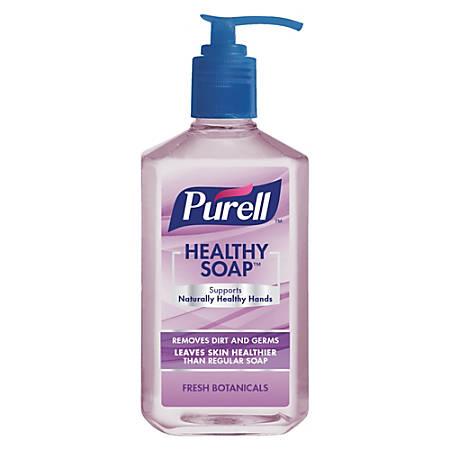 PURELL® brand HEALTHY SOAP™, Fresh Botanicals Scent Pump Bottle, 12 Oz