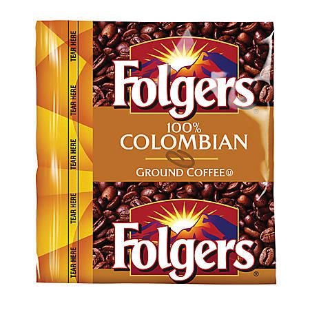 Folgers® Colombian Classic Coffee, Regular, 0.9 Oz., Box Of 150
