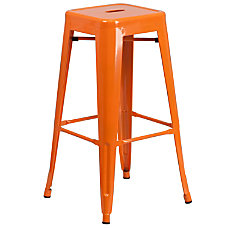 Flash Furniture Commercial Backless Bar Stool