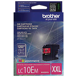 Brother LC10EM High Yield Magenta Ink