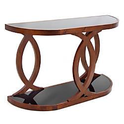 Lumisource Pesce Console Table Walnut