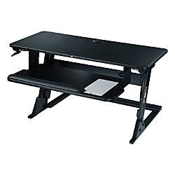 3M Precision Standing Desk Black