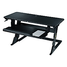 3M Precision Standing Desk Black