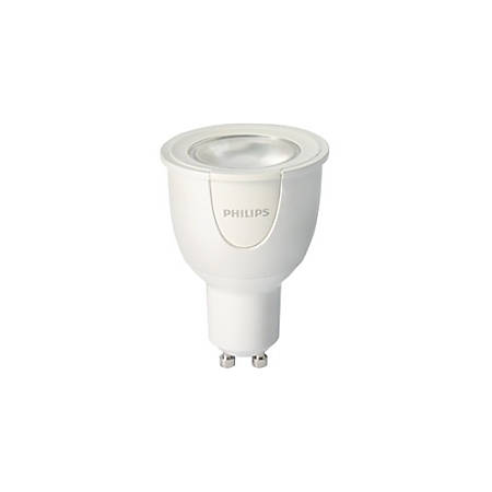 Philips hue White And Color Ambiance GU10 Smart LED Light Bulb, 6.5 Watts
