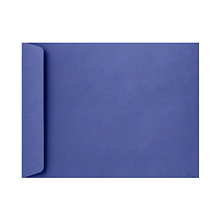 "LUX Open-End Envelopes With Peel & Press Closure, #9 1/2, 9"" x 12"", Boardwalk Blue, Pack Of 50"