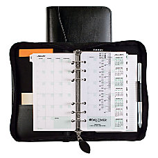 Day Timer Bonded Leather Binder And
