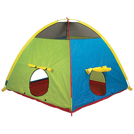 "Pacific Play Tents Silver Series Super Duper 4-Kid Play Tent, 58""H x 58""W x 46""D, Multicolor"