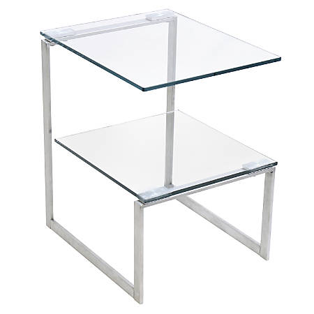 Lumisource 6G Side Table, Clear