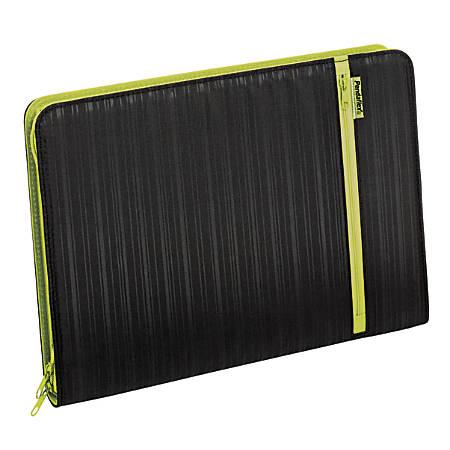 "Pendaflex® Professional Fabric Expanding File, 1"" Expansion, 7 Pockets, Letter Size, Black"