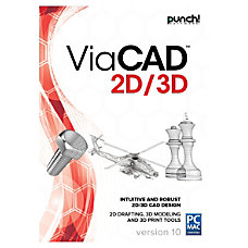 Encore PUNCH ViaCAD 2D3D v10 Traditional