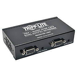 Tripp Lite Dual VGA Audio over