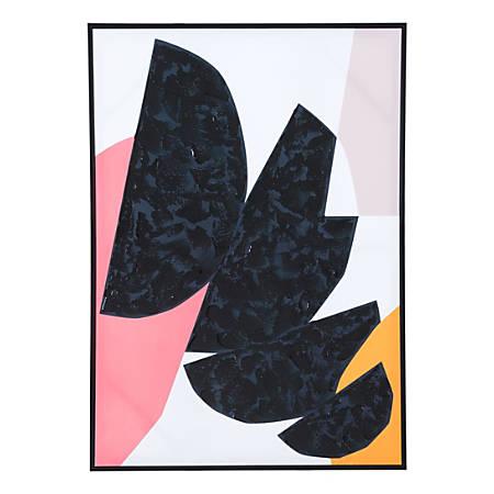 Zuo Modern Figuras Canvas Art, Multicolor