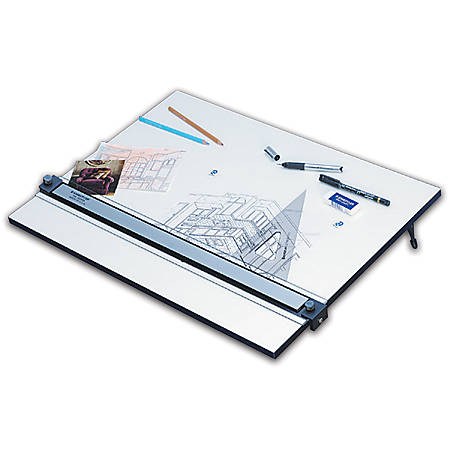 "Staedtler® Parallel Straight Edge Drawing Board, 18"" x 24"", White"
