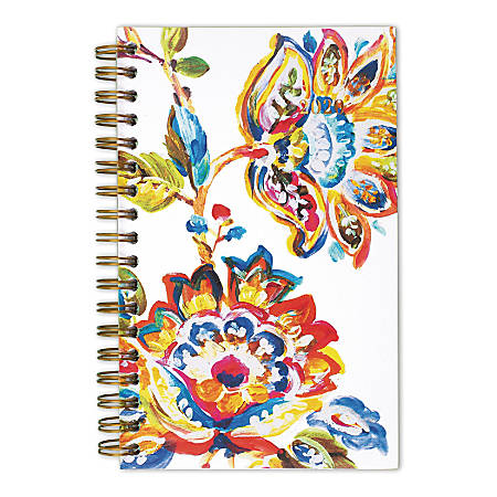 """Cambridge® Hannah Weekly/Monthly Pocket Planner, 3-1/2"""" x 6"""", Multicolor, January To December 2020, 1161-300"""