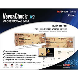 VersaCheck X9 Professional 2018 For 20