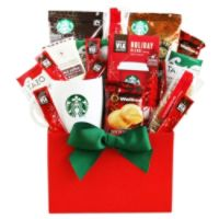Givens Gift Basket, Holiday Coffee And Cheer, 4 Lb Deals