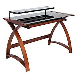 Lumisource Bentley Computer Desk Wenge