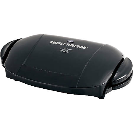 George Foreman 5 Serving Removable Plate Grill, Black