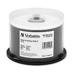 Verbatim MediDisc DVD R 47GB 8X