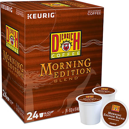 Diedrich Morning Edition Single-Serve K-Cups®, Carton Of 96