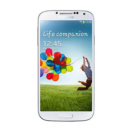 Samsung Galaxy S4 Cell Phone, White, PSN100331