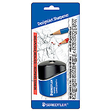 Staedtler Mars Lumograph Pencil Sharpener BlackBlue