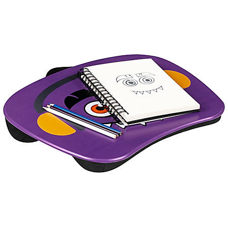 "LapGear MyMonster Lap Desk, 17"" x 13-1/4"", Purple"