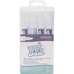 deflecto Nontoxic Chisel Tip Wet erase