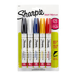 Sharpie Paint Markers Medium Point Assorted