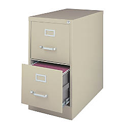 Awesome 2 Drawer Letter Size File Cabinet