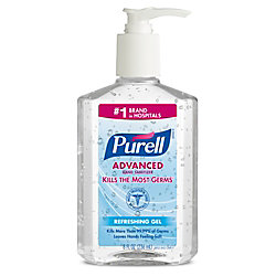 Purell® Instant Hand Sanitizer Pump, 8 Oz