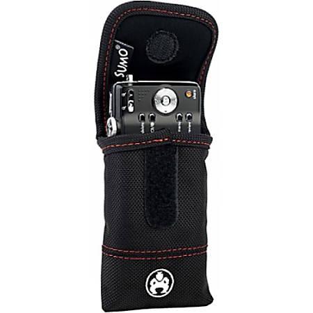 SUMO Carrying Case (Flap) iPod, iPhone, Digital Player, Cellular Phone, Camera - Black - Denier Nylon, Ballistic Nylon - Belt Clip