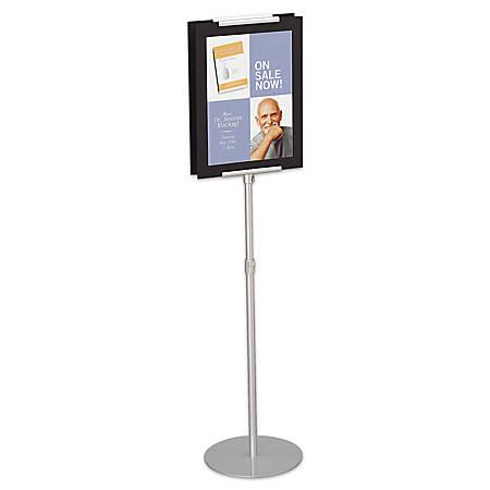 Quartet® Adjustable Sign Stand