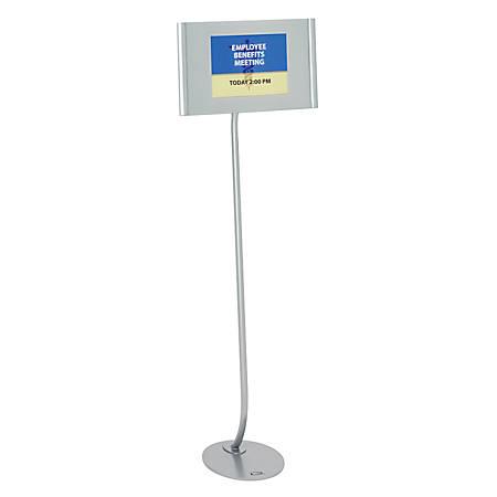 Quartet® Designer Sign Stand