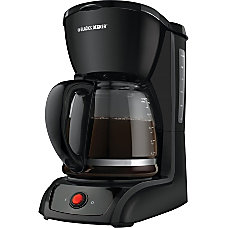 Black Decker 12 Cup Switch Coffee