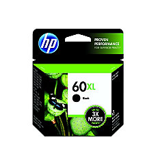 HP 60XL Black Ink Cartridge CC641WN