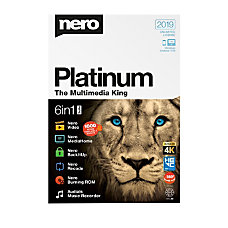 Nero Platinum 2019 Traditional Disc