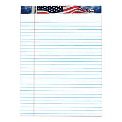 TOPS Perforated American Pride Writing Pads