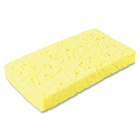 Impact Products Small Cellulose Sponge - 48/Carton - Cellulose - Yellow