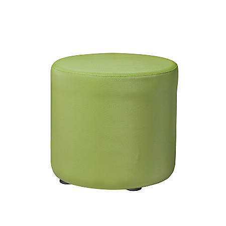 "Marco Round Seating Ottoman, 16""H, Leap Frog"