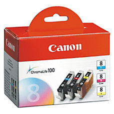 Canon CLI 8 Tricolor Ink Cartridges
