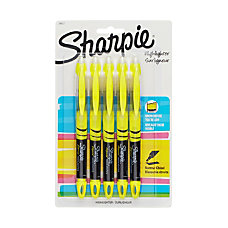 Sharpie Accent Liquid Highlighters Yellow Pack
