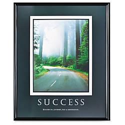 Advantus Motivational Prints Success Framed Print