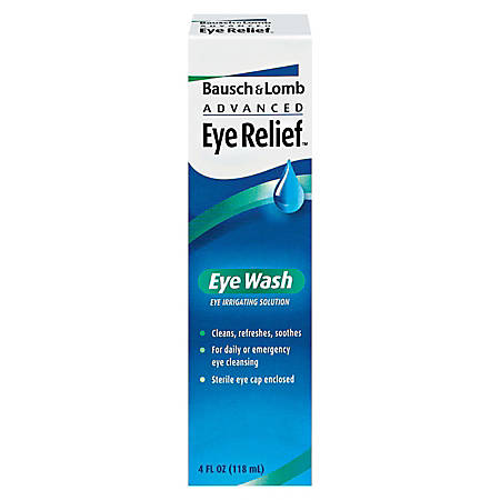 Bausch & Lomb Eye Wash, 4 Oz.