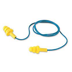 3M UltraFit Corded Ear Plugs BlueYellow