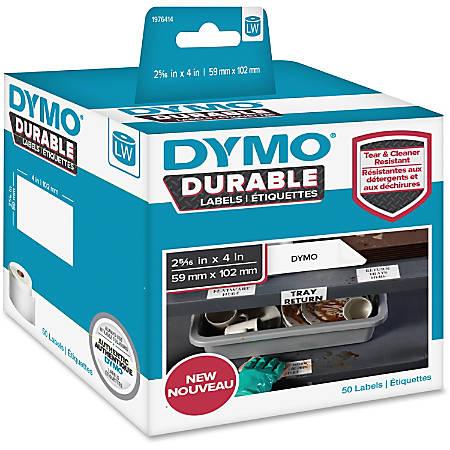 "DYMO® LabelWriter Labels, DYM1976414, 2 5/16""W x 4""L, Rectangle, White, 50 / Roll, 50 / Roll"