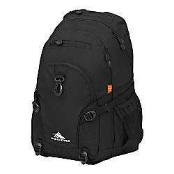 High Sierra Loop Backpack Black